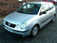 2002 52 VOLKSWAGEN POLO 1.2 E 3DR ** MOT 17TH AUGUST 2018 ** TRADE IN TO CLEAR **