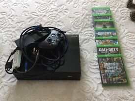XBOX ONE console and controller/games