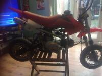 Zongshen 110 cc clutch pitbike