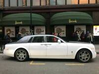 Wedding Car Hire Luxury Car Hire Prestige Rolls Royce Phantom Prom Chauffeur Limousine