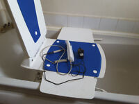 Bath Chair. With remote control. Selling it as the bathroom is being modernised.