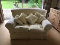 FREE 2/3 seater yellow sofa