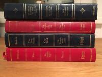 Vintage/antique books