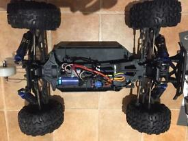 1/10th scale 2.4 ghz FTX Carnage electric RC car