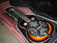 Lap steel guitar Martin Smith in hard case