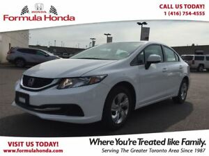 2013 Honda Civic LX | HEATED SEATS | BLUETOOTH