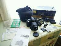 Nikon D3100 Digital SLR Camera With 18-55 VR Lens