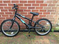 Boys trax black bike - 1 yr old 8-10yrs