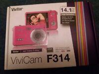 Vivitar ViviCam F314 in Pink