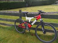 GT Full Sus Bike. Adult Size Small.