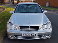 Good and clean Condition, Service History, Half Leather Mercedes C200