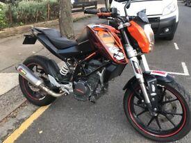 KTM 125 duke it's sold !!