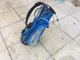 Ping hoofer 4 under golf bag. Callaway Taylormade Titleist Style