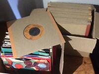 """87 7"""" vinyl records (45s)"""