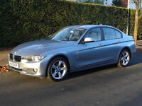 Beautiful BMW 3 Series 2.0 320d SE 4dr (start/stop), SATNAV, leather interior, parking camera