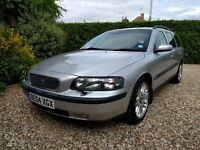 Volvo V70 Petrol, good condition, FSH, last service June 2017,tow bar used for bike rack, dog guard