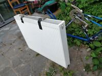 Radiator 2/3 yrs old, temp fix in kitchen while undertaking building work, Good condition.