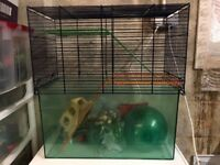 Gerbil/hamster/mouse cage
