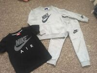 Boys Nike tracksuit & top age 2-3
