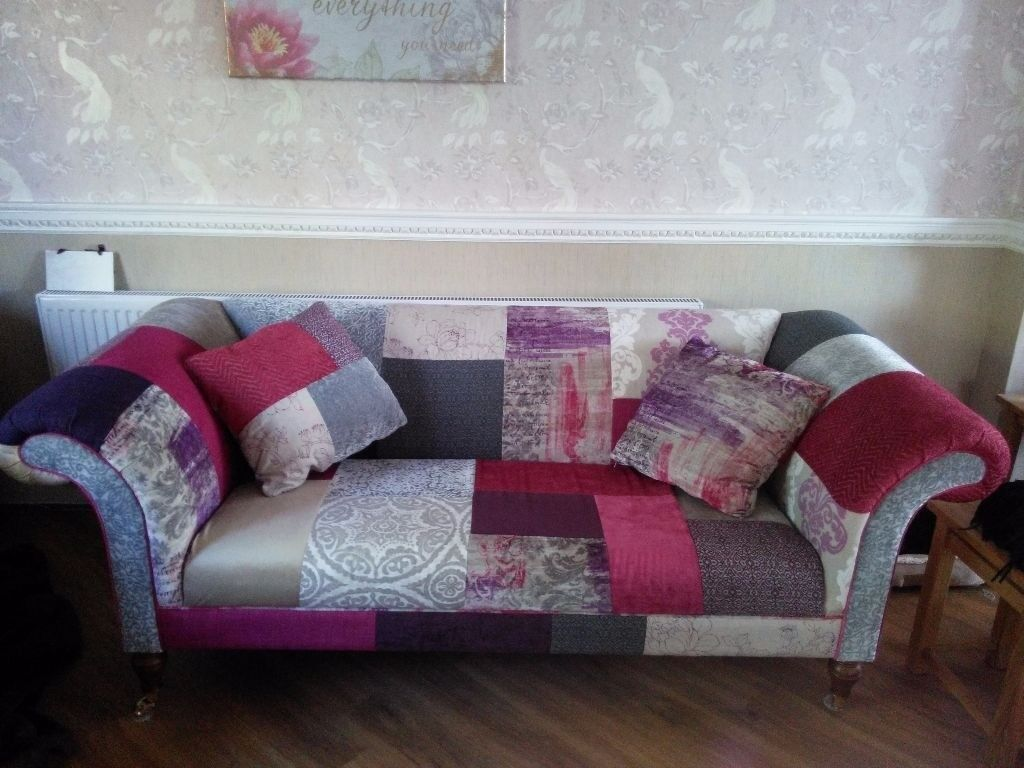 Beautiful 2 Seater Dfs Fashionista Patchwork Sofa In Kings Cross London Gumtree
