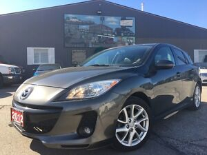 2012 Mazda MAZDA3 GT SPORT-SUNROOF-LEATHER-