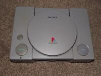 RARE ps1 AUDIOPHILE SCPH 1002 PAL console only