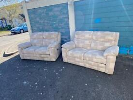 recliner two seater sofa set Delivery available