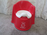 Baby Bjorn Potty Chair - Red