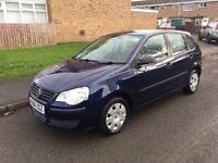 06 VW POLO ( FACELIFT ) SORT AFTER 5 DOOR MODEL 3 CYLINDER CHEAP INSURANCE GREAT CAR MUST SEE
