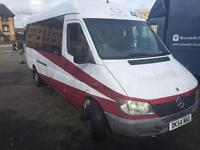 Mini bus Mercedes sprinter 130hp cramper motor home