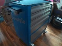 """Unior """"Eurostyle 1"""" tool carriage plus 3 Drawers with inserts / tools."""