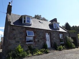 Unfurnished, Detached Property in Forgue, Huntly To Let