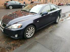 LEXUS IS 250 SE Auto 06 plate FSH not bmw mercedes audi