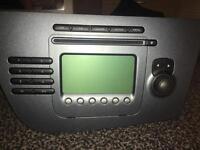 Seat Leon radio stereo