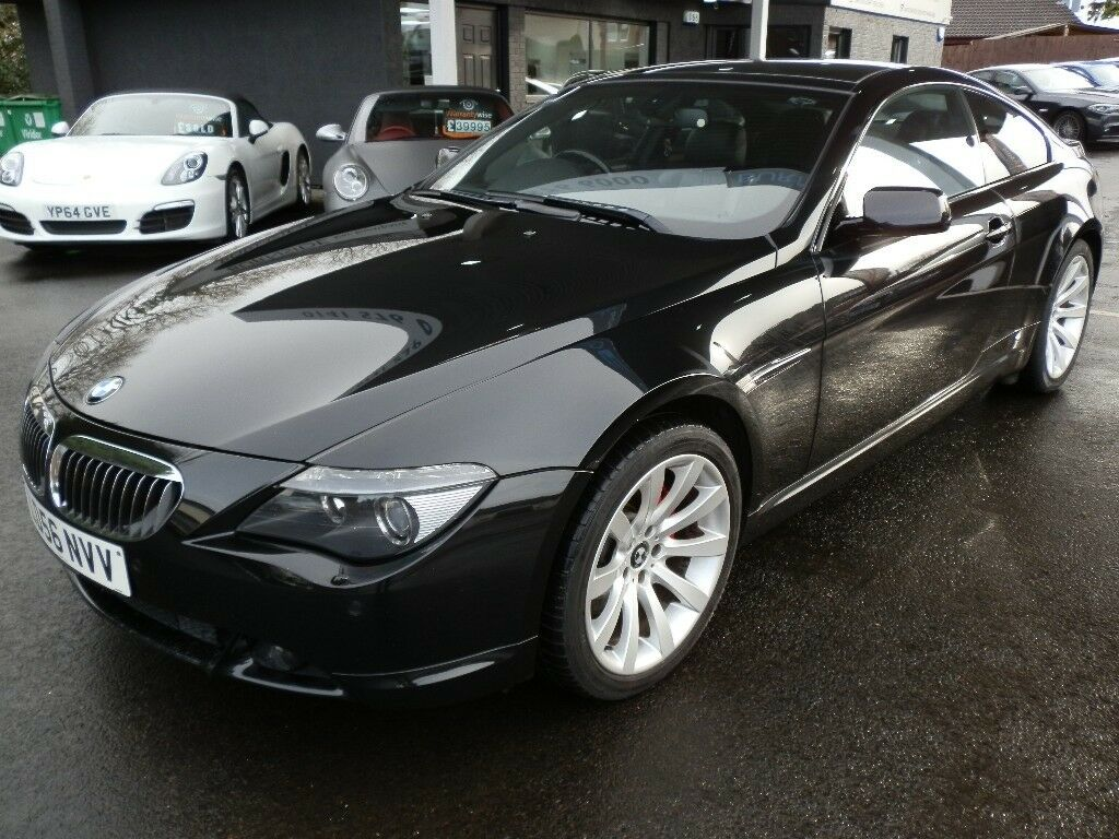 Bmw 6 Series 4 8 650i Sport 2dr 2006 56 Reg Coupe In Black Stunning Car With Every Extra