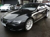 BMW 6 Series 4.8 650i Sport 2dr 2006 (56 reg), Coupe in black. Stunning car with every extra!