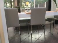 Designer table chair and bench