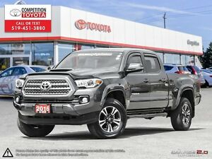 2016 Toyota Tacoma SR5 TRD SPORT, Toyota Certified, One Owner...