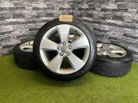 "17"" Genuine Audi A3 Sportback 8V Alloy Wheels Tyres A4"