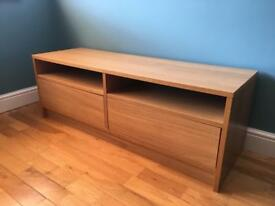 TV Unit With Shelving + Storage