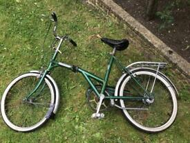 Dawes kingpin foldable bike missing frame latch