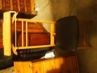 LADIES OR GENTS DRESS CHAIR AND CLOTHES HORSE50