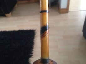 Two old fishing rods for sale one has two poles the other has three