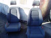 Audi TT front seats.
