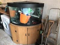 Corner Fish Take And Unit Filter Heater Lights