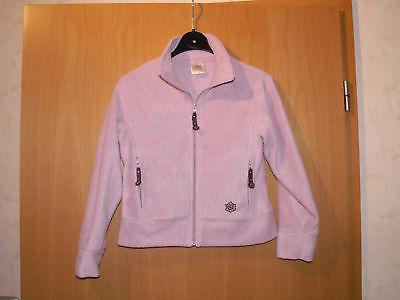 Fleece-Jacke für Mädchen Gr. 140 rosa