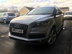 Audi Q7 3.0 tdi quattro face lift not x5 range rover ml270 ml320
