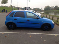 All Blue Corsa Vauxhaull