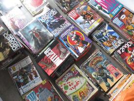 2000 AD / Judge Dredd Megazine / Crisis comics
