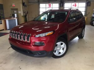 2015 Jeep Cherokee SPORT*V6*ENS REMORQUAGE*PLAN D'OR 5ANS/100 00